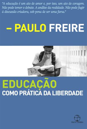 Educação como Prática da Liberdade capa
