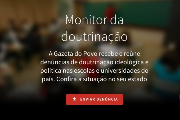 monitor da doutrinação