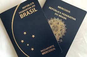 passaporte novo e veho